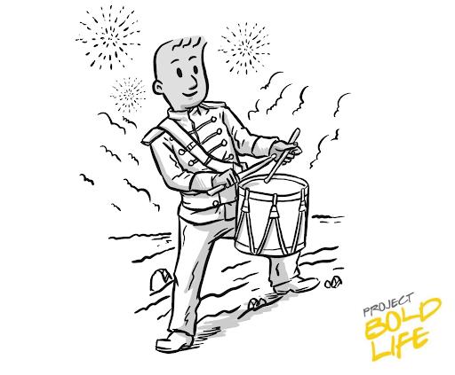Ed Kopko Boldy Independence Day Cartoon