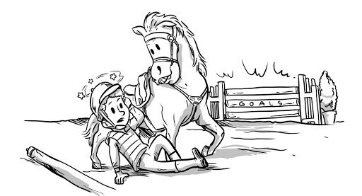 Falling Off the Horse Is Normal