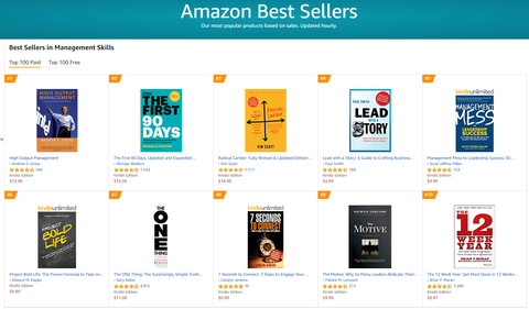 Project Bold Life amazon best seller list